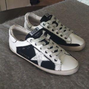 Golden Goose Superstar Sneaker - White/Sand-Black